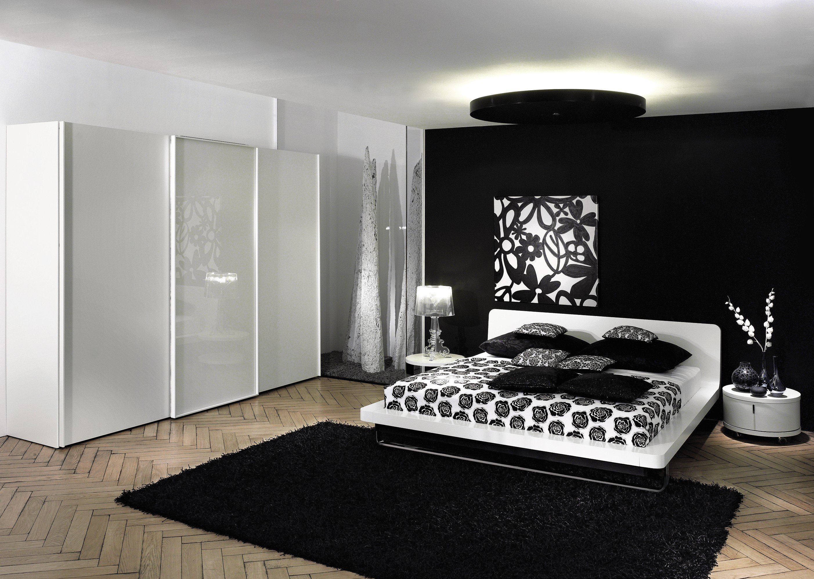 Letto bianco colore parete : letto bianco colore parete. letto ...