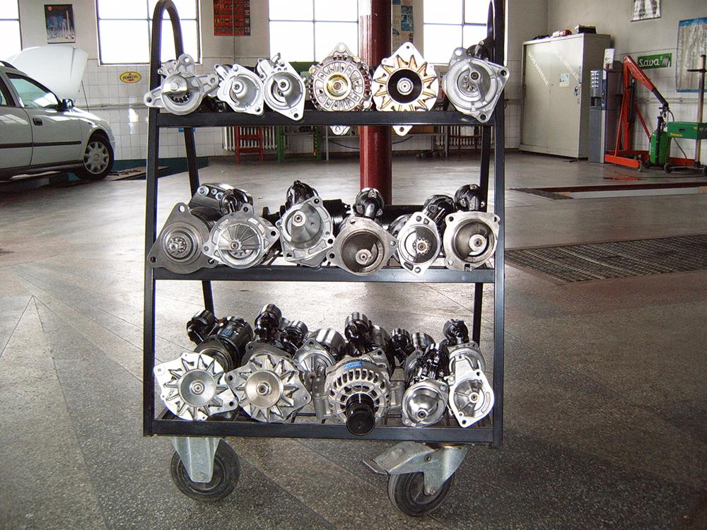 Reparatii, vanzare si piese de schimb pentru electromotoare si alternatoare